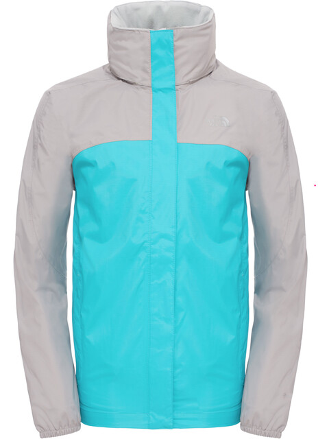 The North Face Girls Resolve Reflective Jacket Bluebird